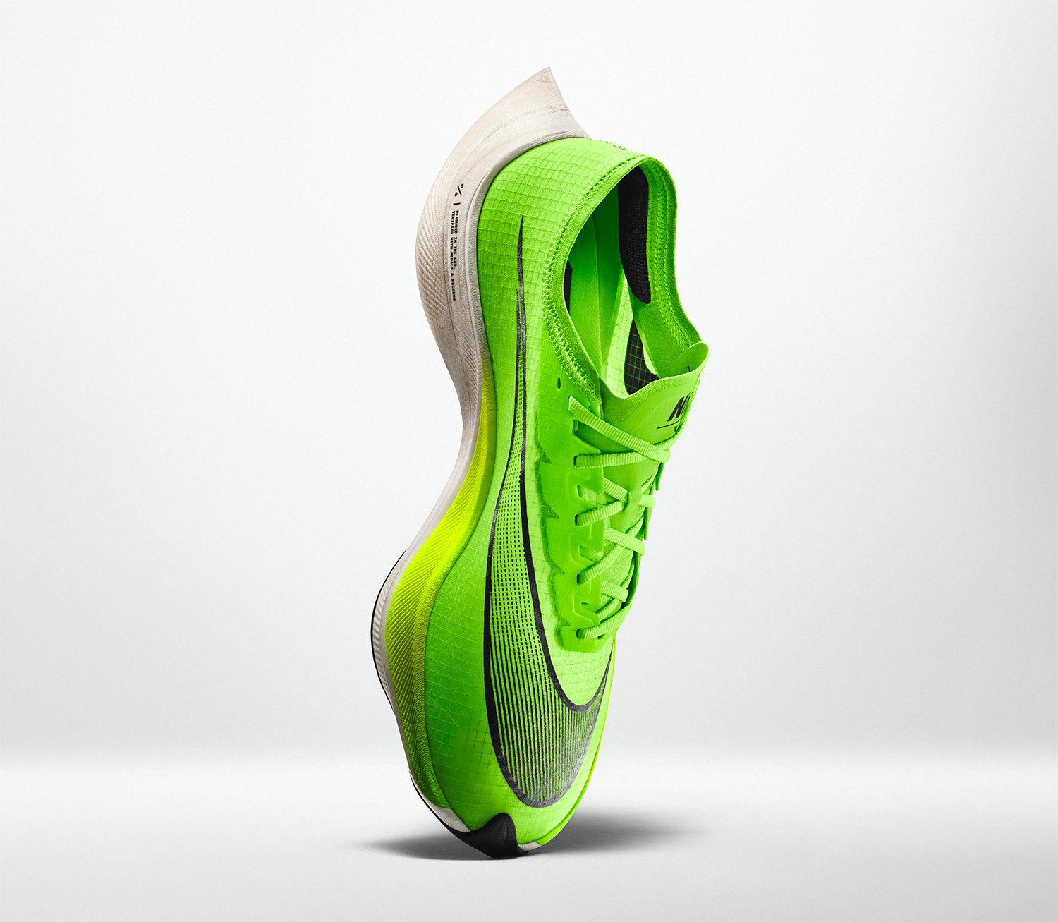Nike Introduces Neon Green Zoom Series Shoes at werd.com