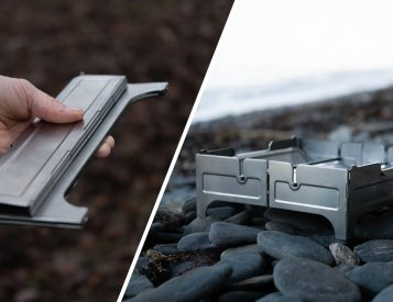Add the Ambiance of a Campfire with the Compact, Portable Fire Safe