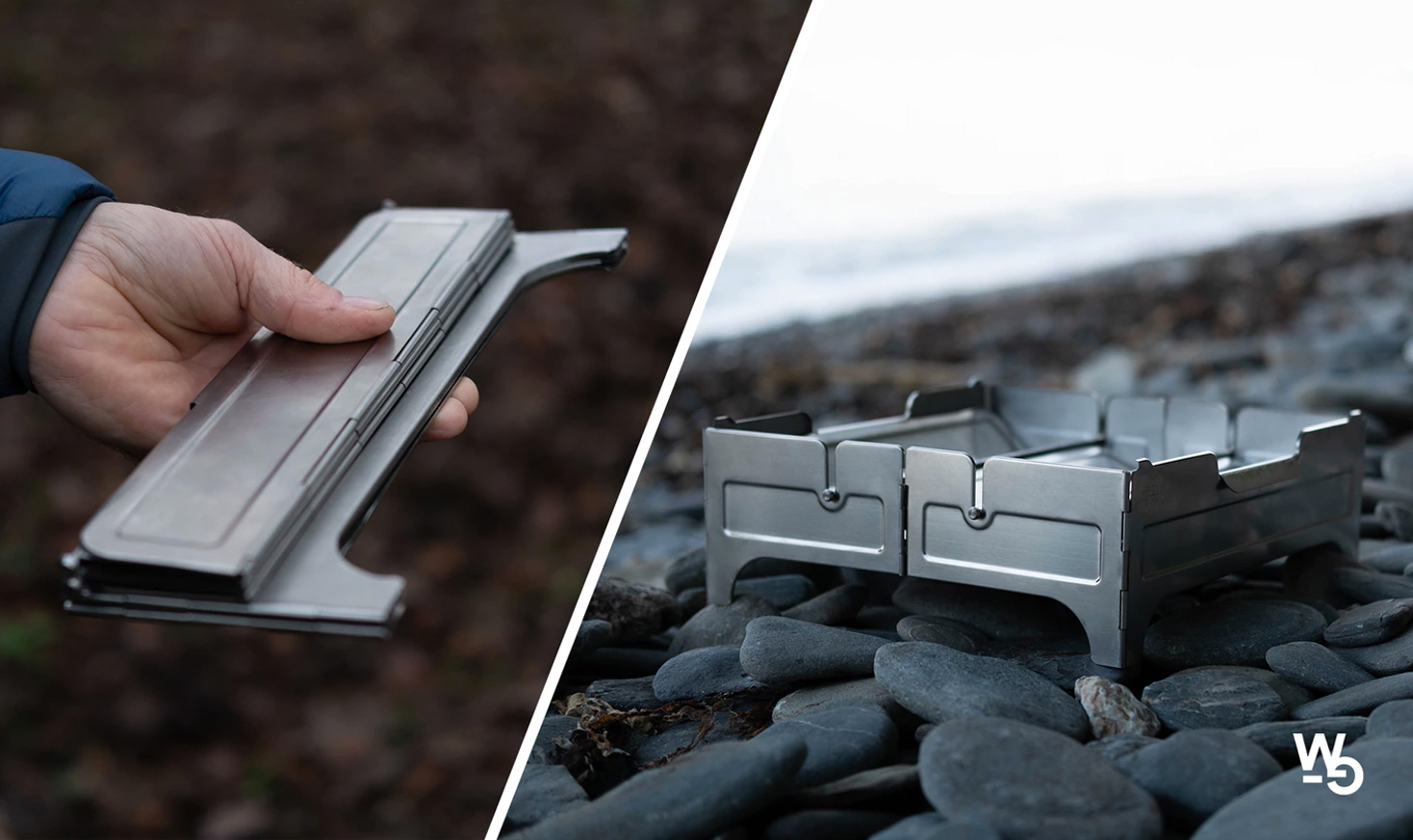 Add the Ambiance of a Campfire with the Compact, Portable Fire Safe at werd.com