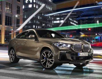 BMW Unveils 2020 X6 Crossover