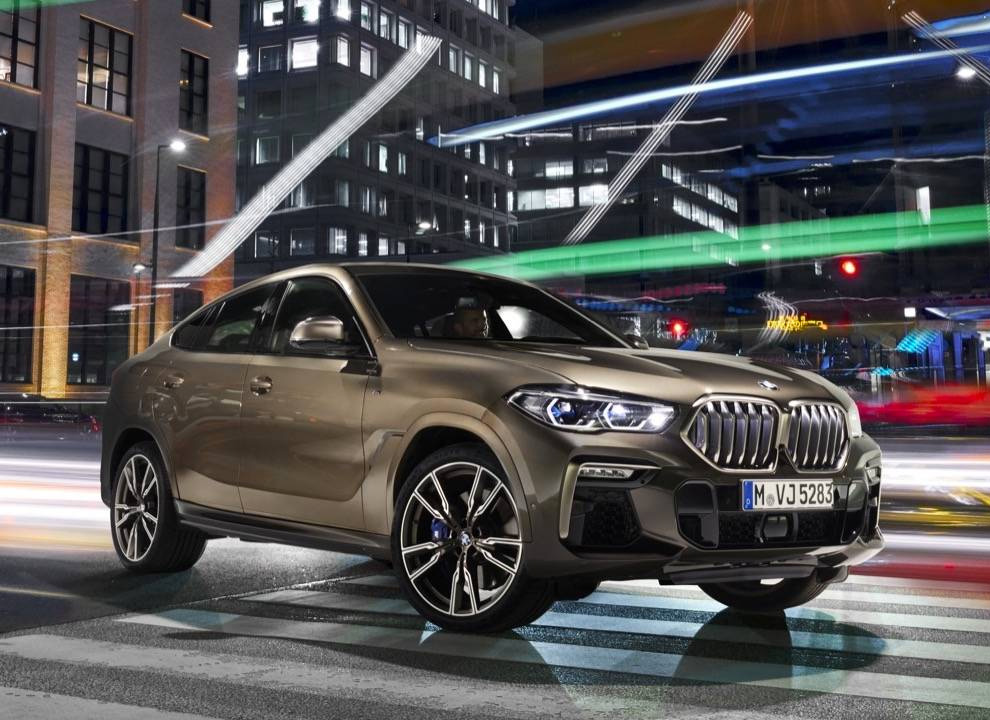 BMW Unveils 2020 X6 Crossover at werd.com