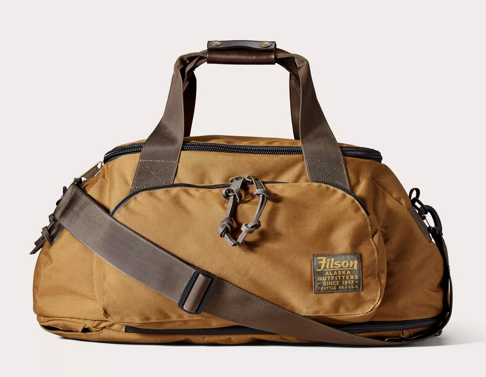 Carry This Ballistic Filson Duffel Any Way You Want at werd.com