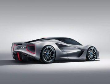 Lotus Eviya: A 2000-Horsepower Electric Hypercar