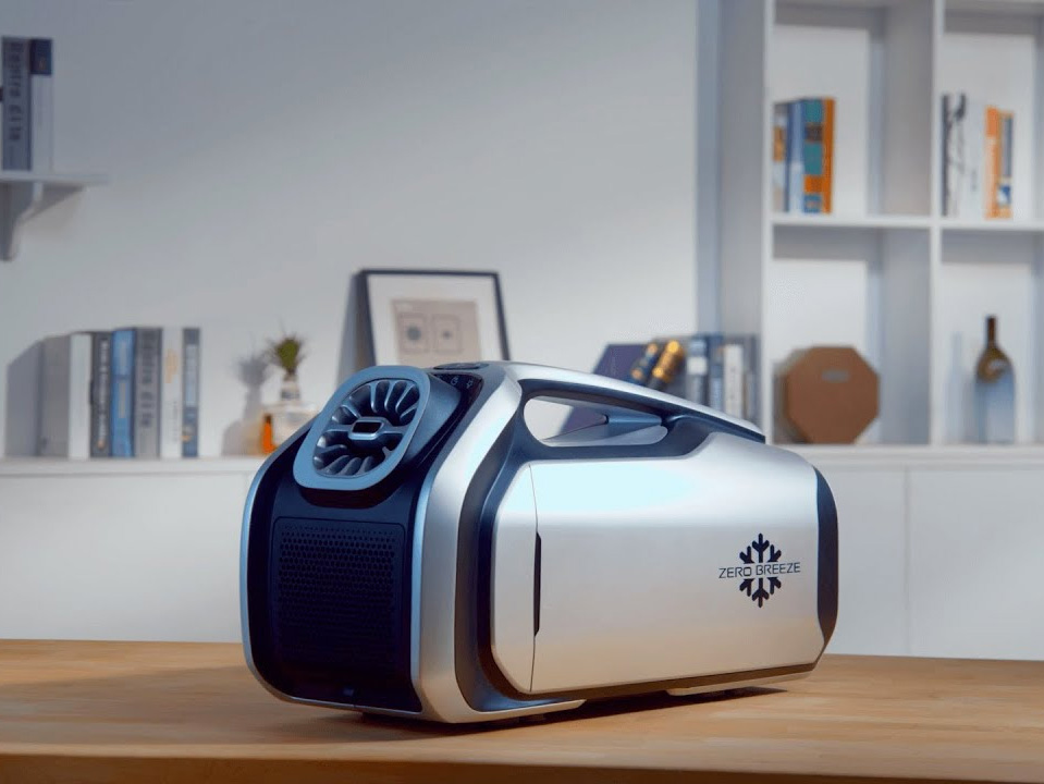 Pretty Cool: The World's First Battery-Powered Air Conditioner at werd.com