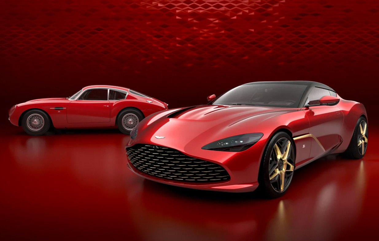 Aston Martin Introduces Limited Edition DBS GT Zagato Coupe at werd.com
