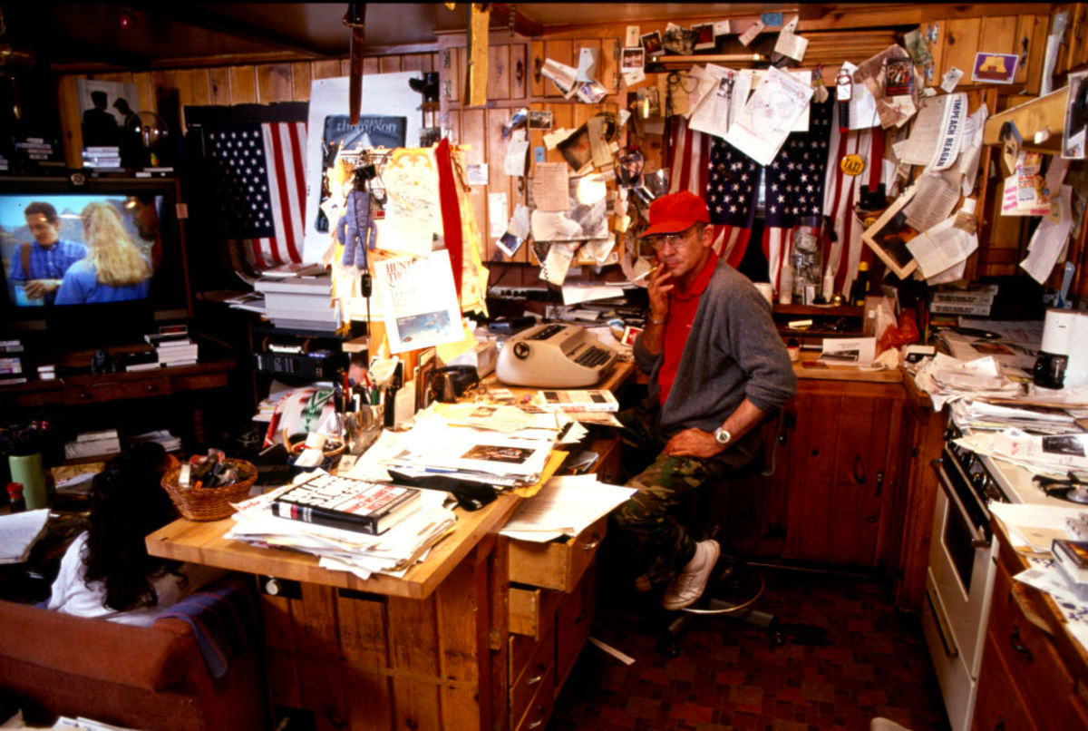 Go Get Gonzo at Hunter S. Thompson's Cabin at werd.com