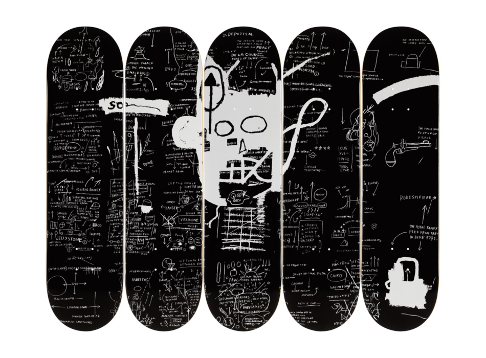 Get a Basquiat On Your Board at werd.com