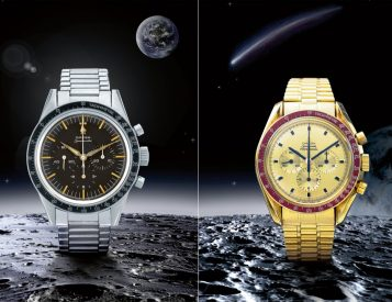 Sotheby's Celebrates 50th Anniversary of Apollo 11 with Rare Omega Speedmasters