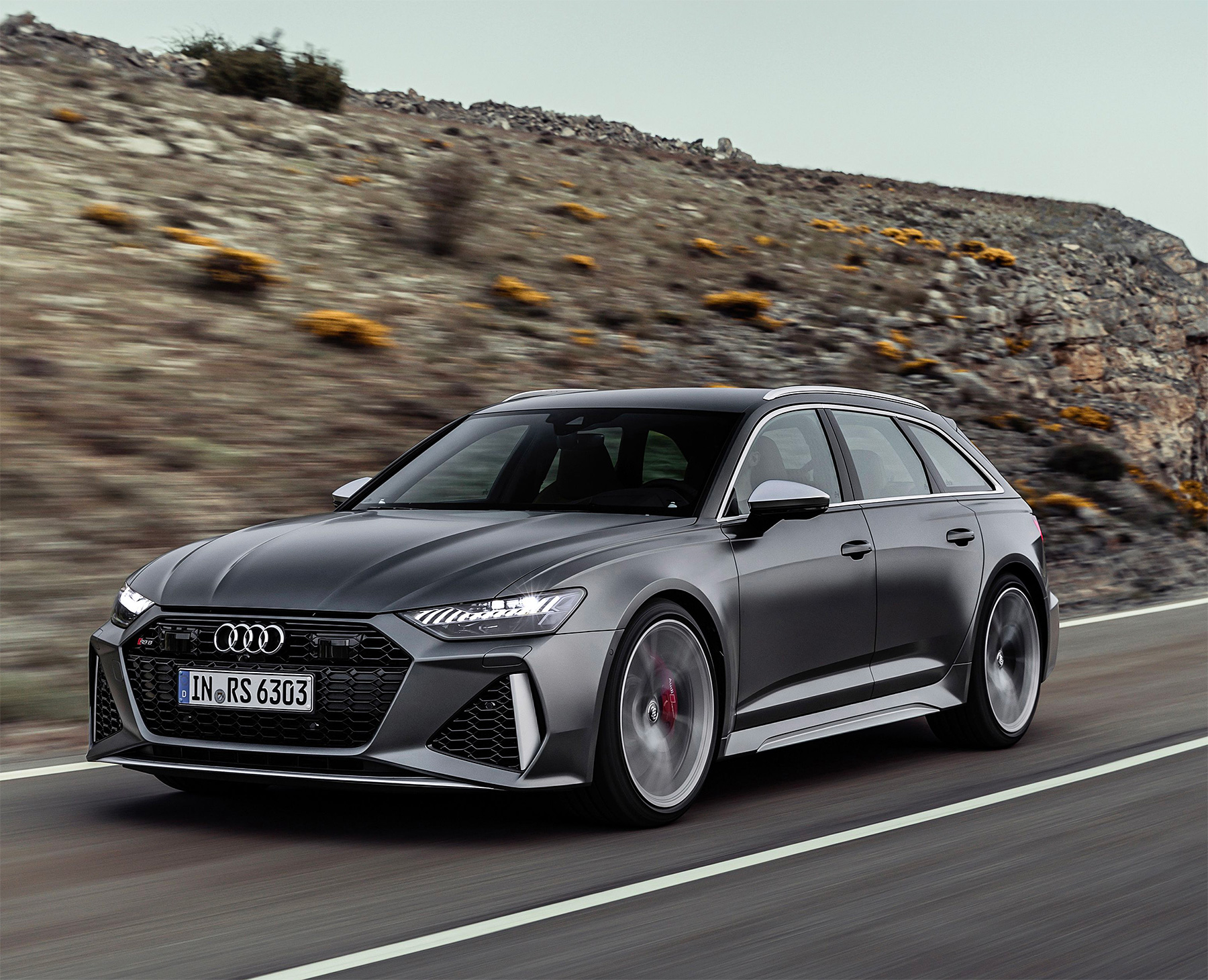 The 2020 Audi RS6 Avant is Coming To America at werd.com