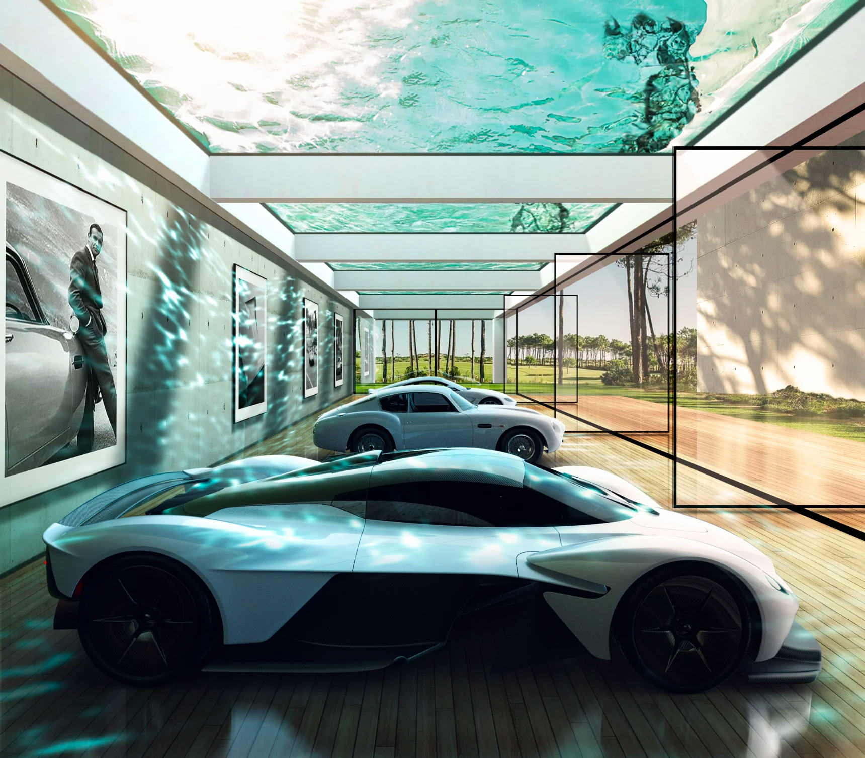 Aston Martin Will Create a James Bond-Level Lair Just for You at werd.com