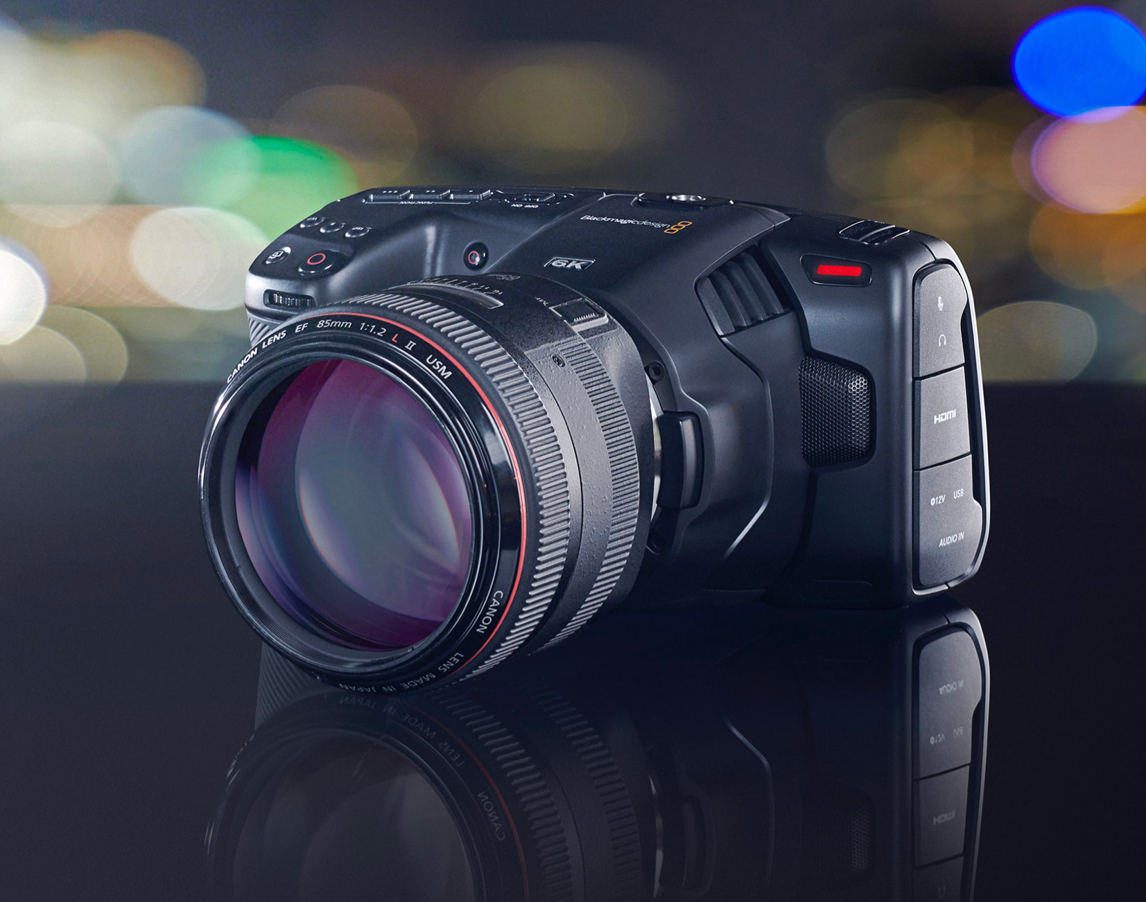 Blackmagic's New 6K Pocket Cinema Camera is a Pint-Size Powerhouse at werd.com