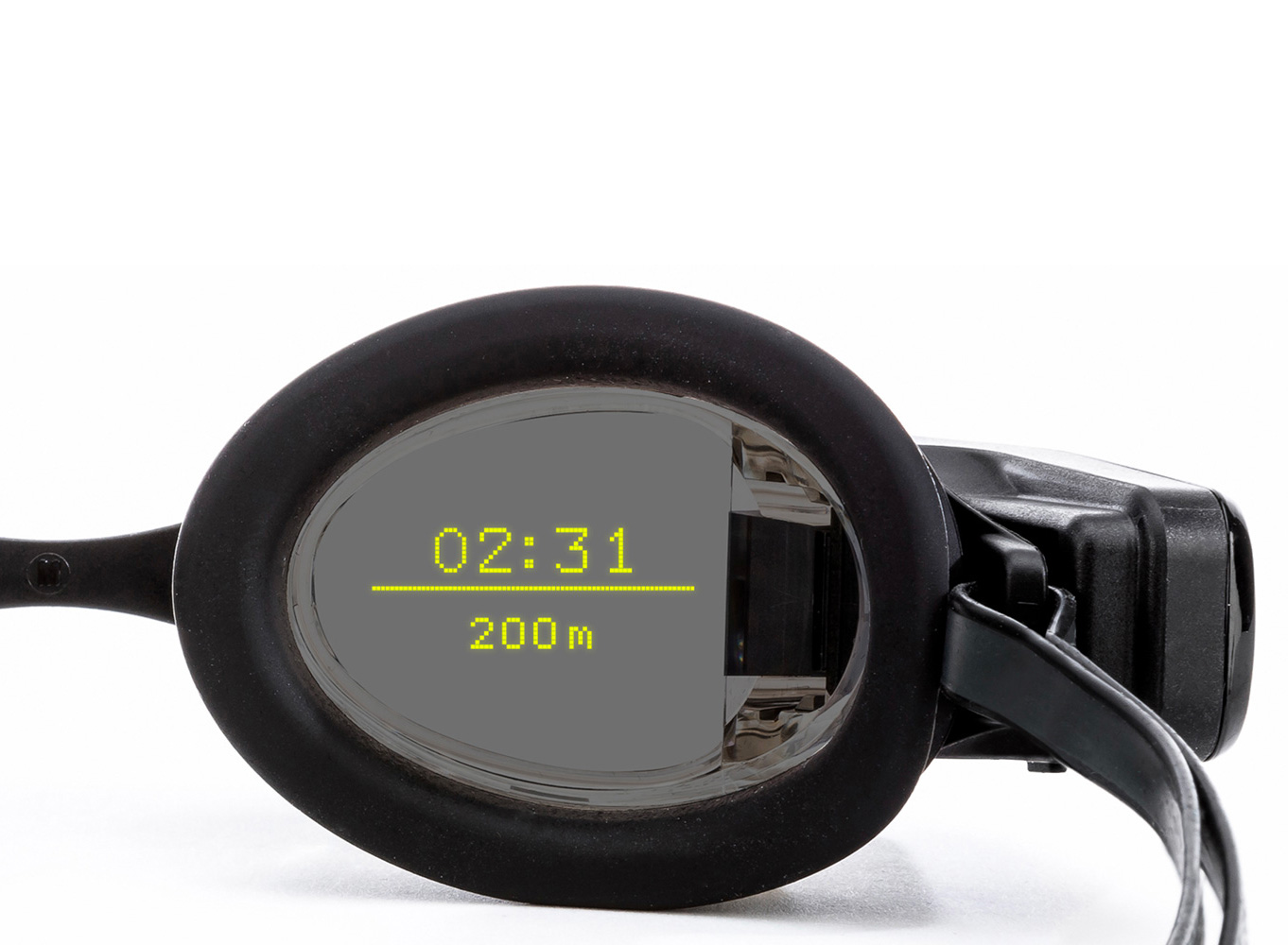 Form Goggles Introduce Swimming's First Smart Display at werd.com