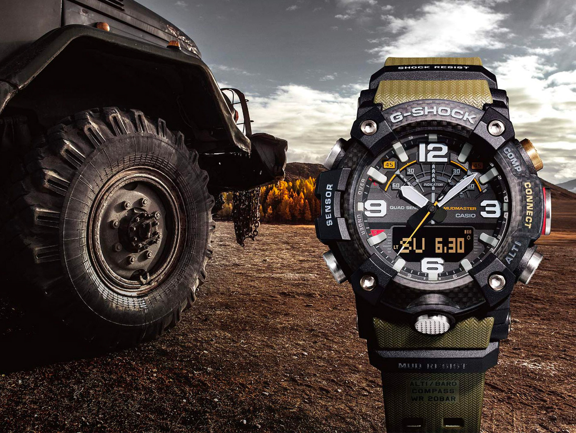 The G-Shock Mudmaster GG-B100 is Built for Extreme Adventure at werd.com