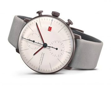 Junghans Celebrates 100 Years of Bauhaus with Classic Chronograph