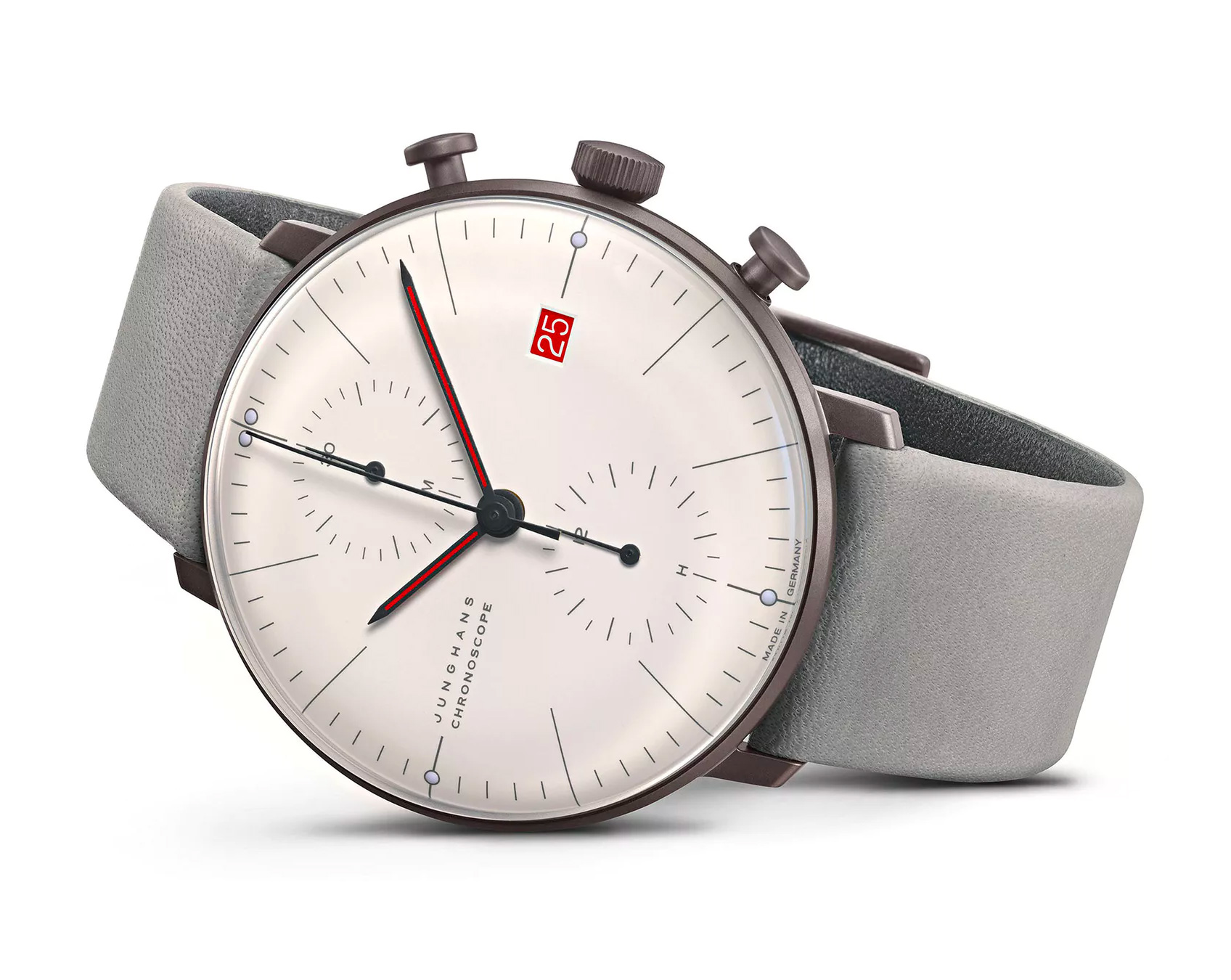 Junghans Celebrates 100 Years of Bauhaus with Classic Chronograph at werd.com