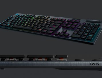 Logitech G Series Mechanical Keyboards are the Thinnest You Will Find