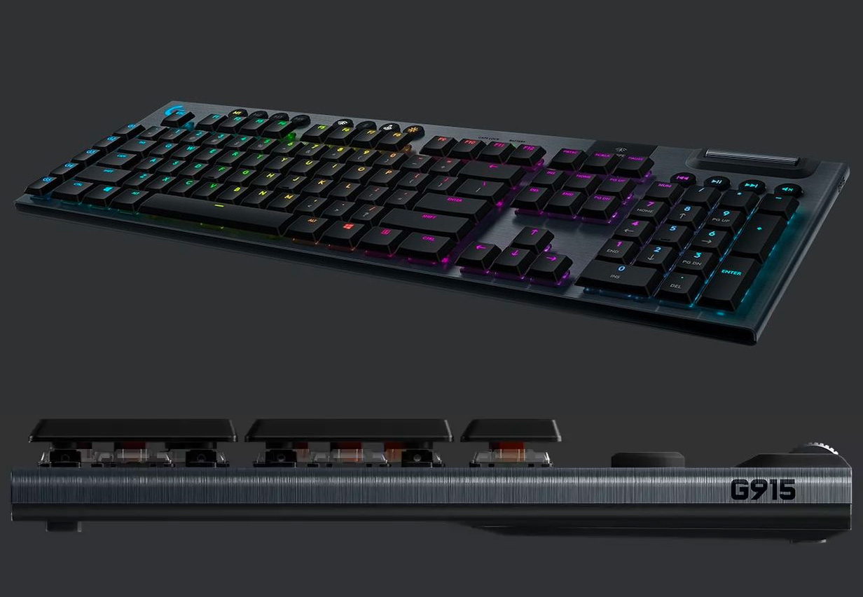 Logitech G Series Mechanical Keyboards are the Thinnest You Will Find at werd.com