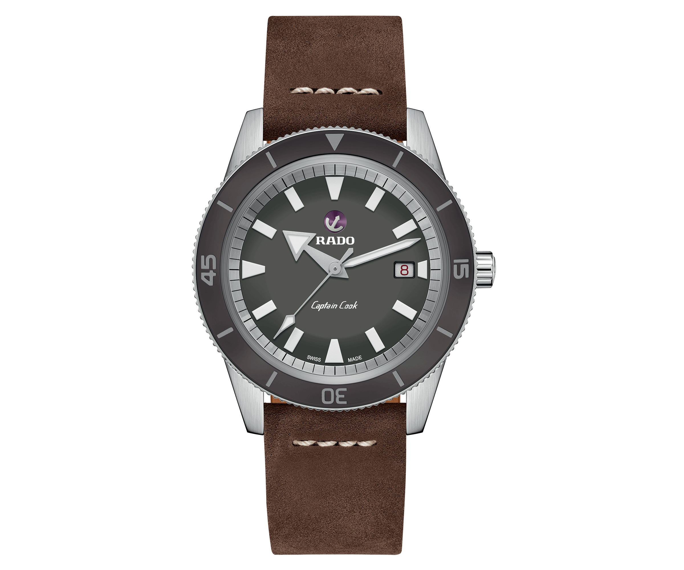 Rado Introduces Captain Hook Automatic Diver's Watch at werd.com