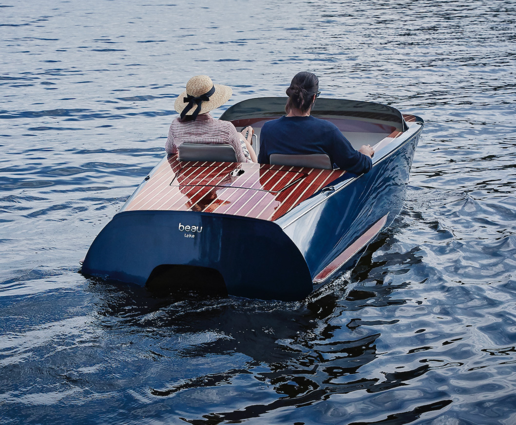 Classic Meets Modern In Beau Lake Electric Boats at werd.com
