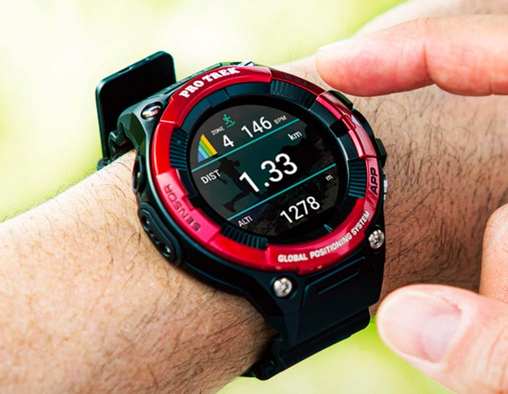 Casio Adds a Heart Rate Monitor to Its ProTrek Line of Smart Watches at werd.com