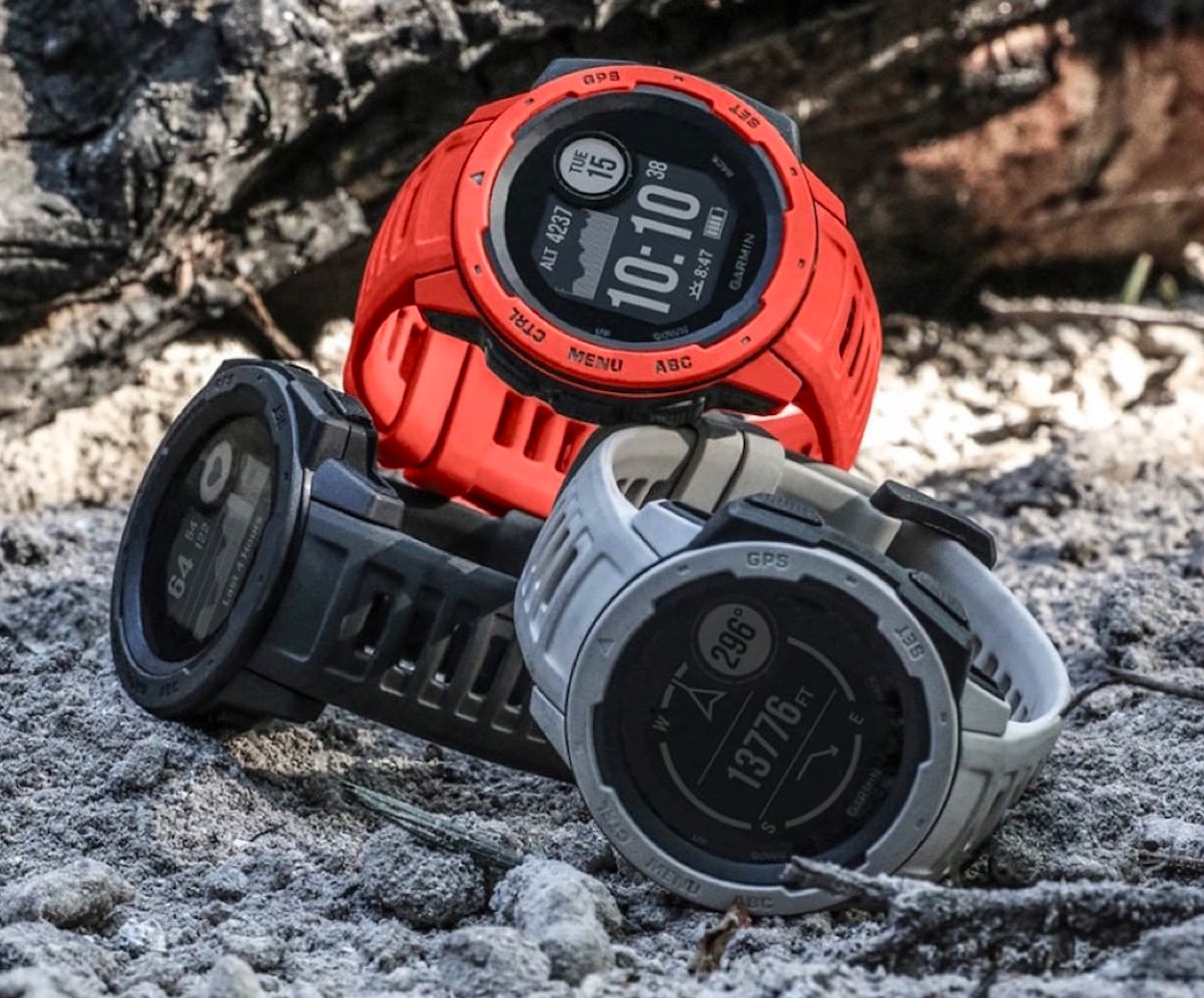 Built for Battle: Garmin Instinct GPS Watch at werd.com