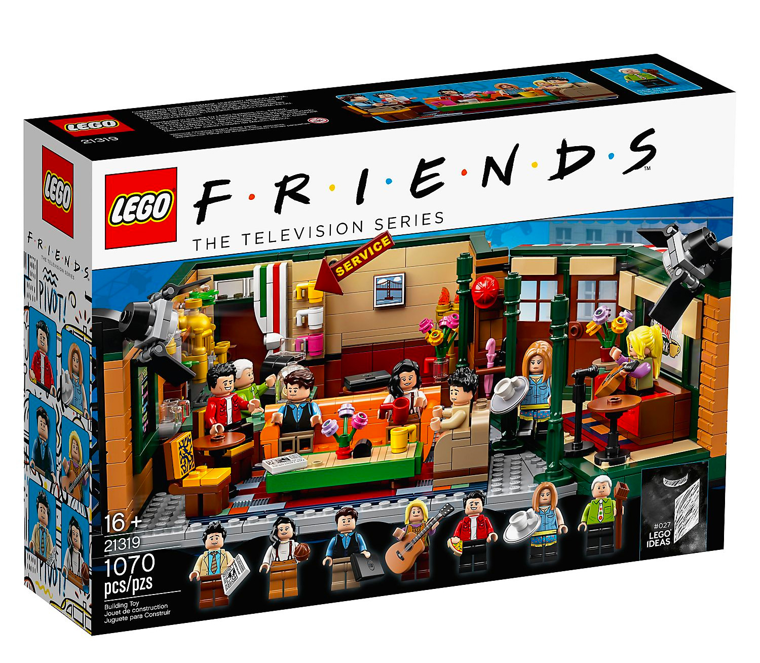 Lego Celebrates 25 Years of <i>Friends</i> with Limited Central Perk TV Set at werd.com