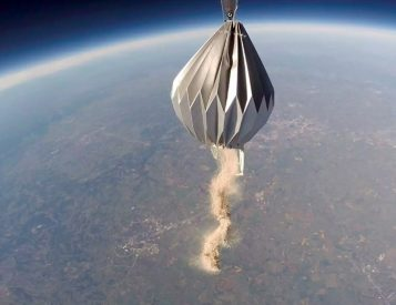 Mesoloft will Spread Your Ashes from the Edge of Space