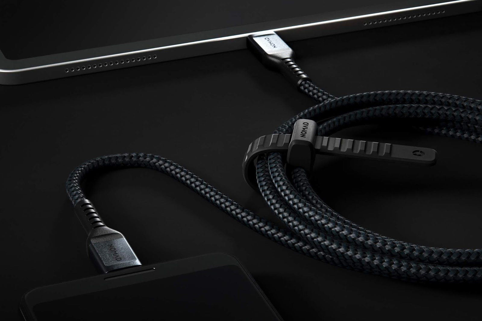 Nomad's Kevlar Charging Cables: Tough & Fast at werd.com