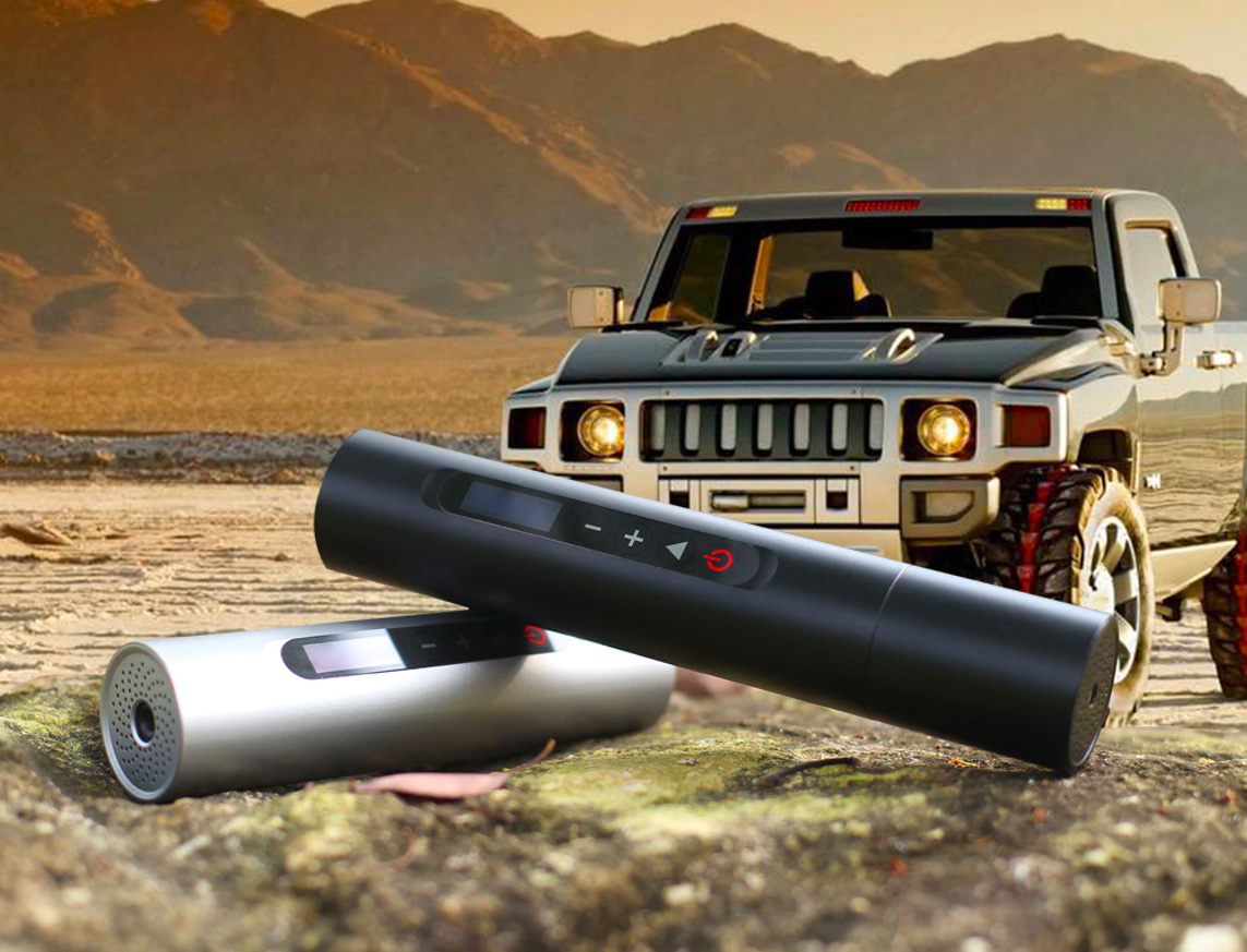We Found the World's Most Portable Tire Inflator at werd.com