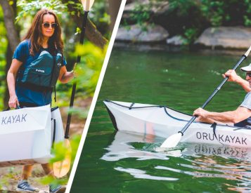 Oru Introduces Origami-Style Inlet Ultra-Portable Kayak