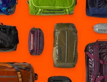 Patagonia Introduces 100% Recycled Black Hole Bags