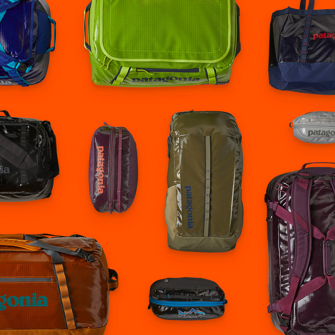 Patagonia Introduces 100% Recycled Black Hole Bags at werd.com