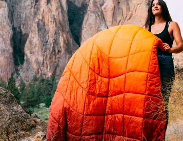 Rumpl Adds More Recycled Content To Its Line of Technical Blankets