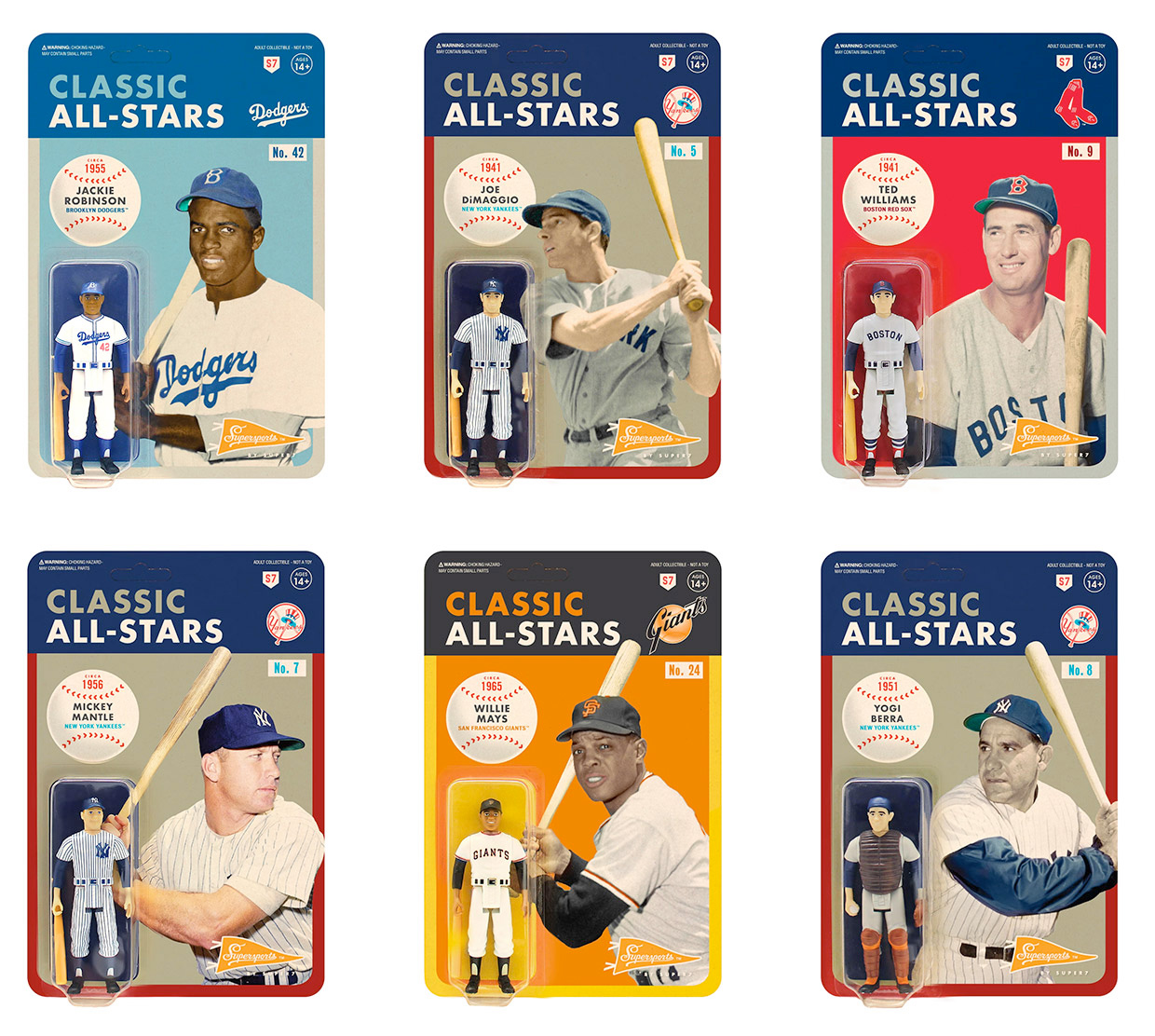 The Classic All-Stars Collection Celebrates Baseball's Best at werd.com