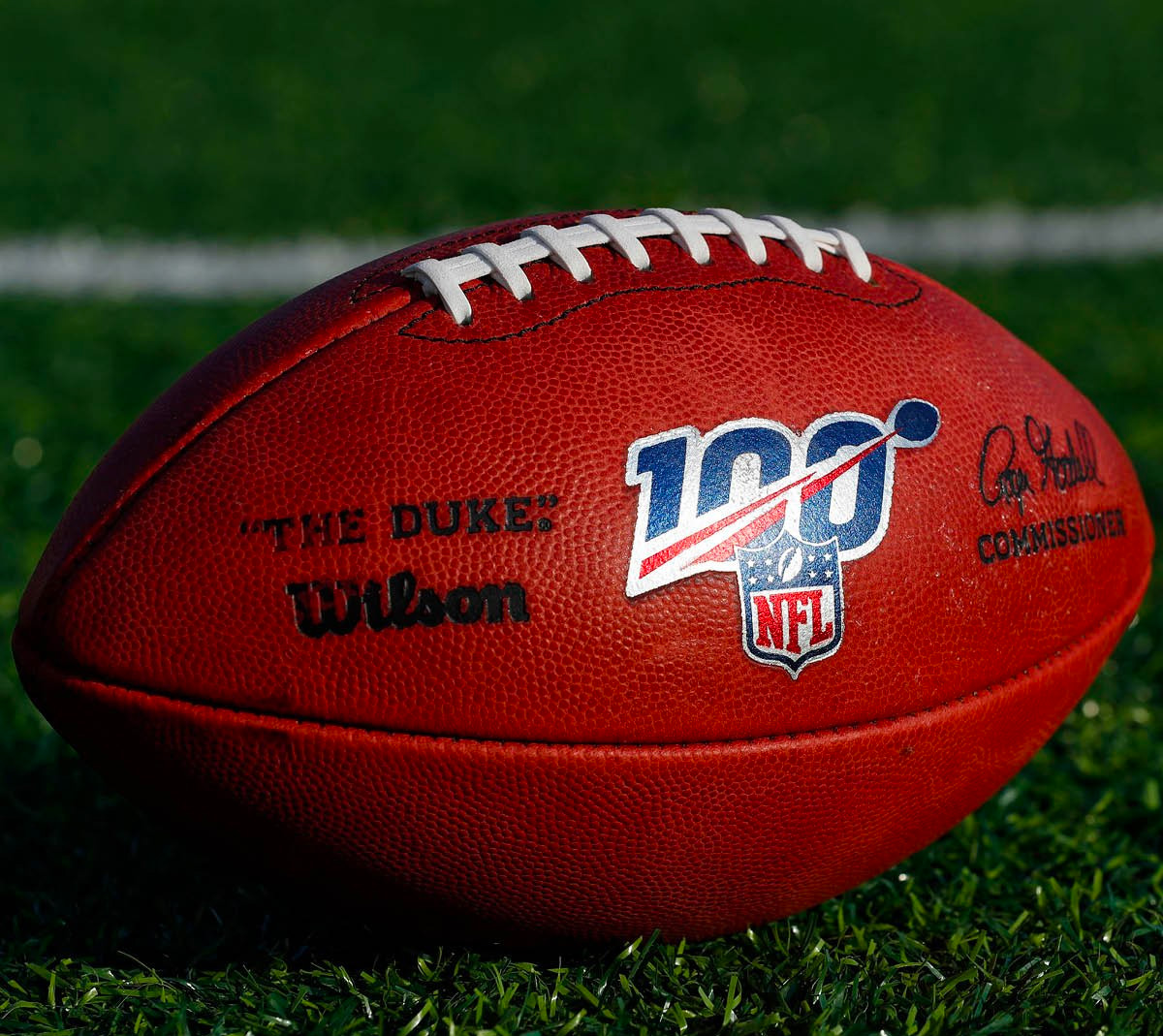 Wilson & NFL Celebrate 100 Years of Pro Football with NFL 100 The Duke Ball at werd.com