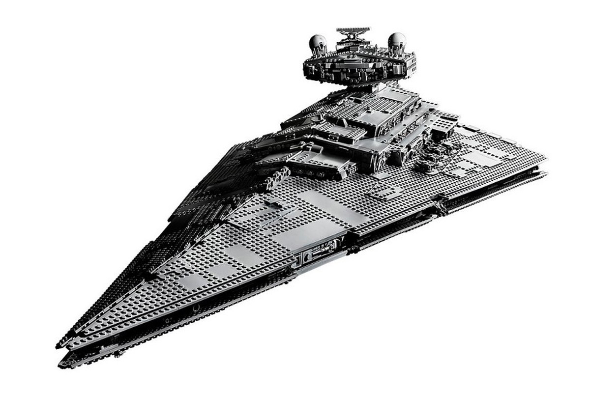 Lego Launches 4874-Piece Imperial Star Destroyer Set at werd.com