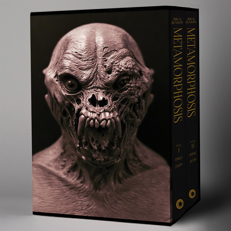 Rick Baker: Metamorphosis 2-Volume Set at werd.com