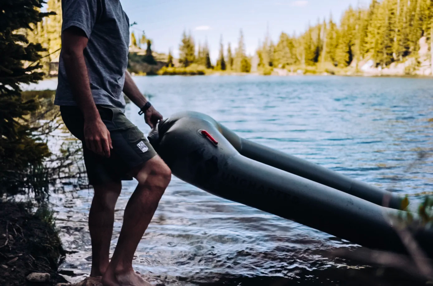 The Uncharted Rapid Raft is a Boat That Fits In Your Backpack at werd.com