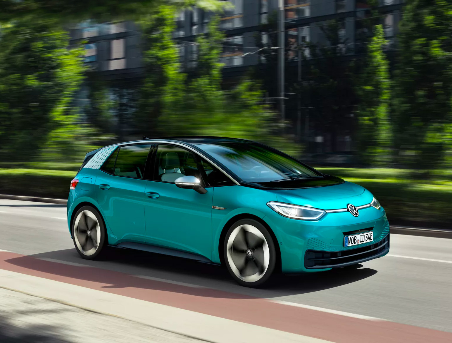 Volkwagen Introduces ID.3, Its First All-Electric Car at werd.com