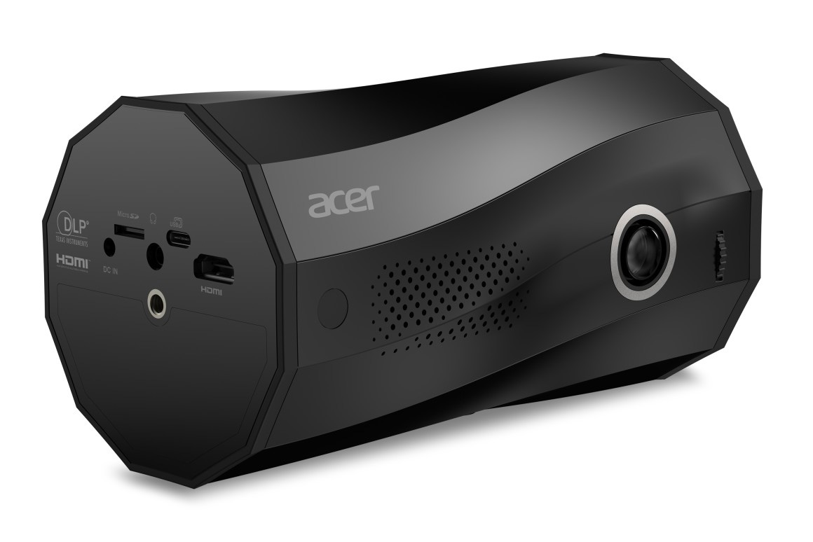 Your Phone + Acer's New Portable Projector is Presentation Zen at werd.com