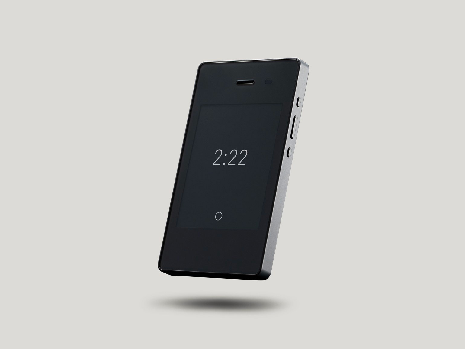 Treat Your Smartphone Addiction with the Low-Tech Light Phone II at werd.com