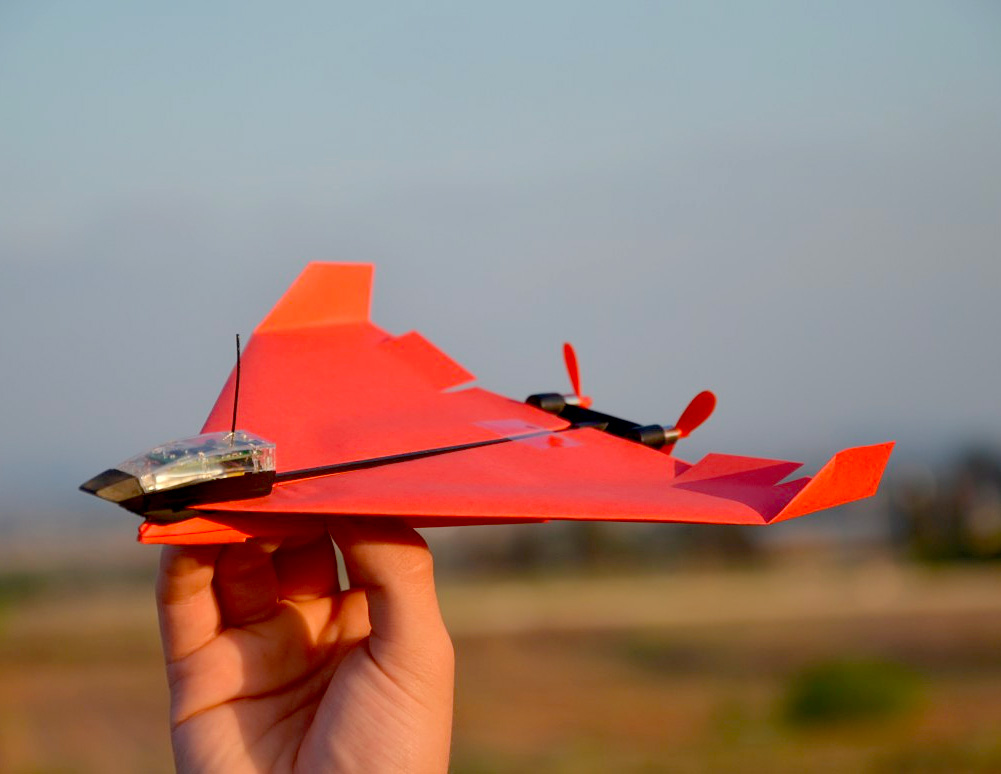 POWERUP's Smartphone-Controlled Paper Airplane Gets an Upgrade at werd.com