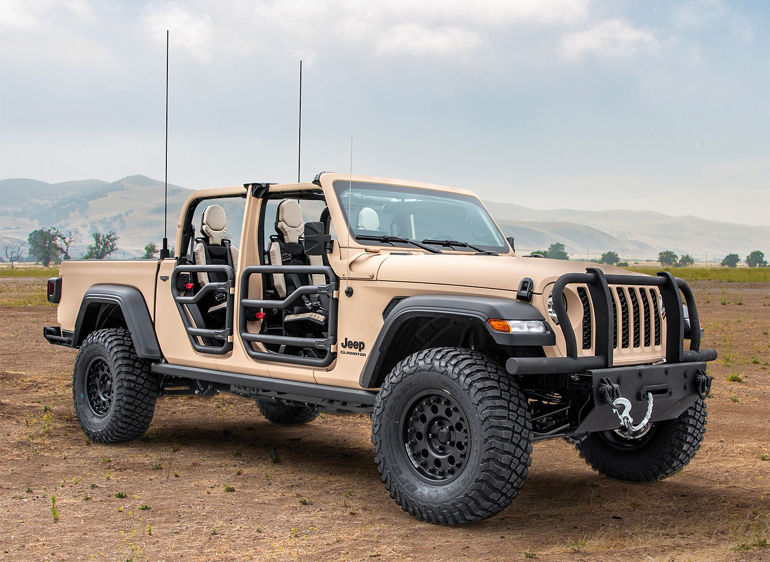The Gladiator XMT Could Bring Jeep Back Into the U.S. Military at werd.com