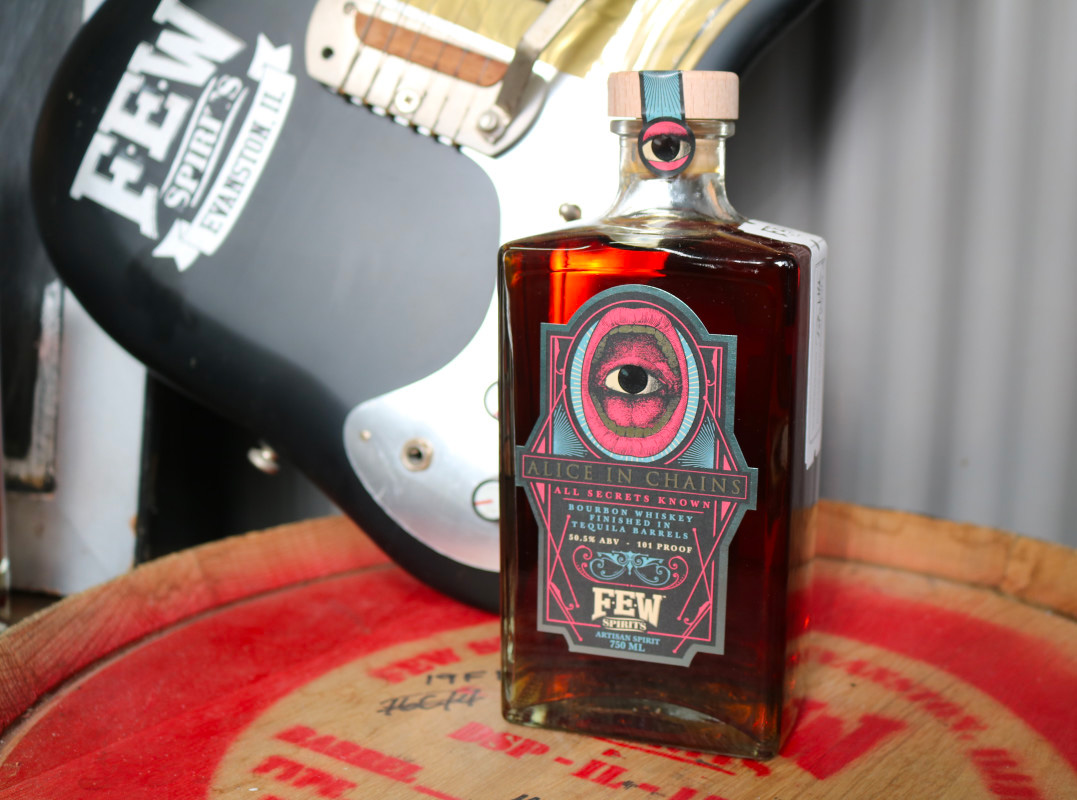 Alice In Chains' Bourbon Adds a Taste of Tequila at werd.com