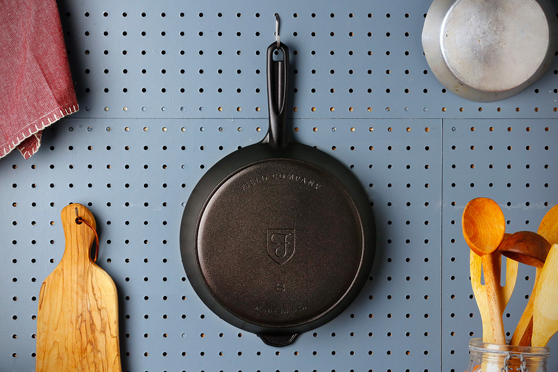 Field Company's Cast Iron Skillets are Smoother & Lighter at werd.com