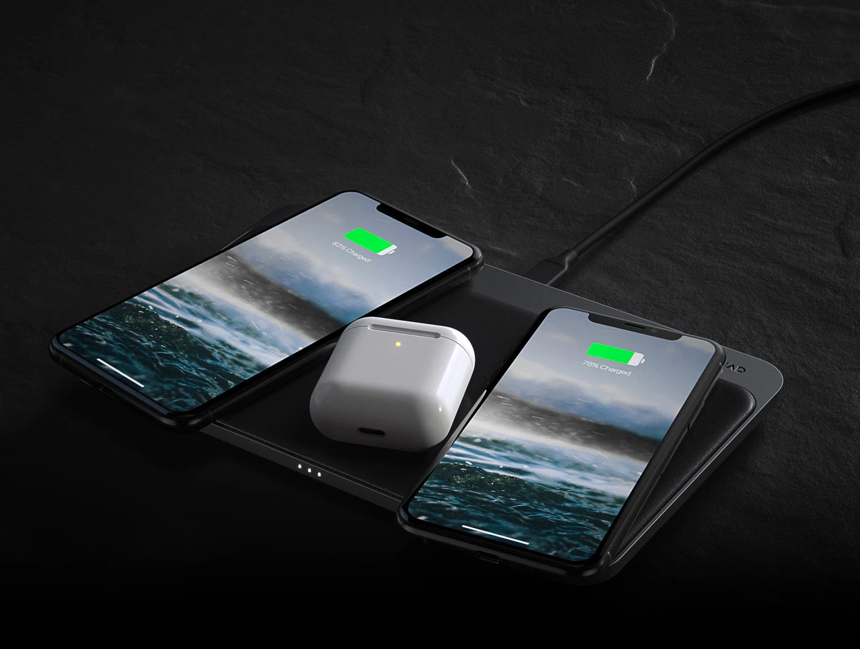 Nomad's Base Station Pro Delivers 3-Way Wireless Charging at werd.com