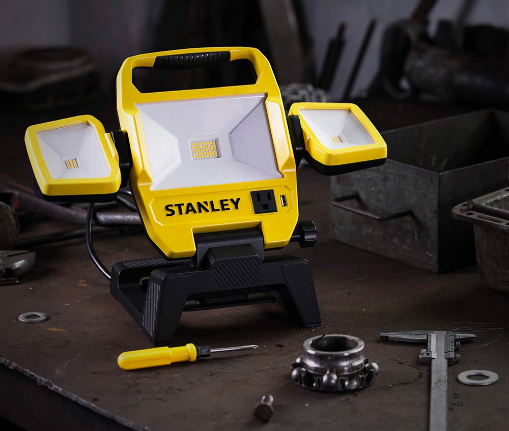 Light It Up with Stanley's 5000-Lumen Work Light at werd.com