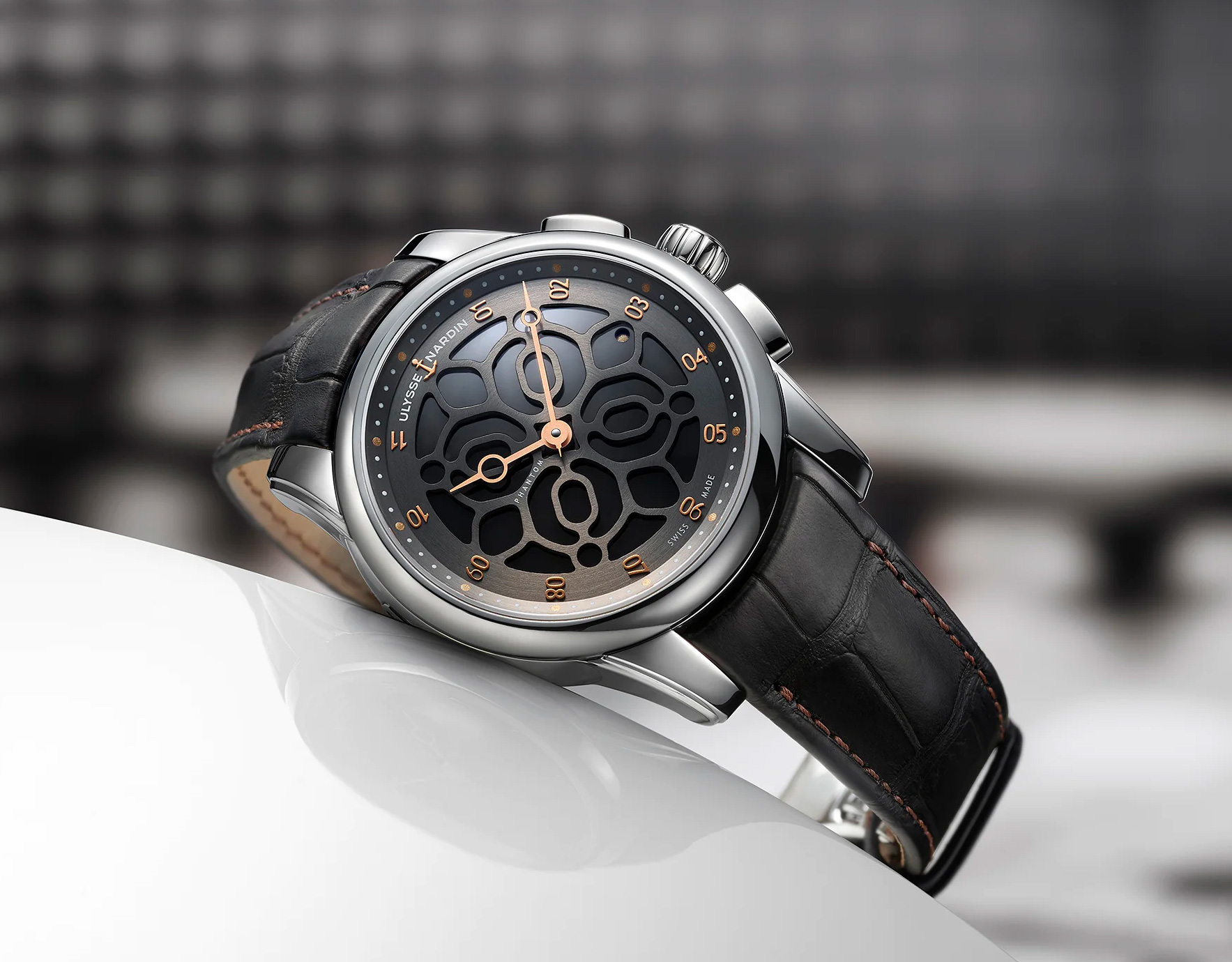 The Limited Edition Ulysse Nardin Hourstriker Phantom Sounds as Good as it Looks at werd.com