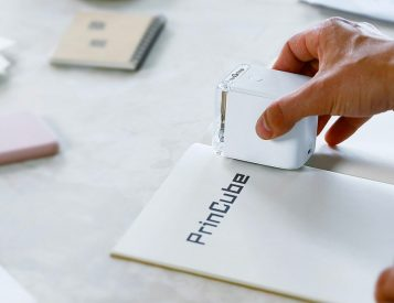 The Palm-Size PrinCube Prints On Just About Anything