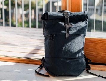 The Koru Rucksack is a Lightweight Canvas Carryall